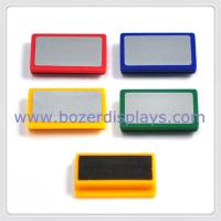 Buy cheap LOGO rectangle plastic magnet from wholesalers