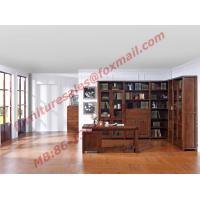 Buy cheap Solid Wooden with Glass Door Material Bookcase Set  for Living Room Furniture from wholesalers