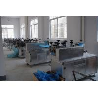 Buy cheap Anti - Slip Disposable Gloves Making Machine 20 - 30 Gsm Non - Woven Thickness from wholesalers