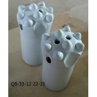 Buy cheap Q8-33-12 22-65mm Tapered Button Drill Bit from wholesalers