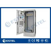 Professional PDU IP55 Outdoor Telecom Cabinet Grey Color 1800X900X900 mm