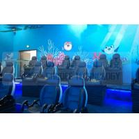Buy cheap Black Motion Seat Cinema 5D Simulator System With Three Dimensional Movies from wholesalers