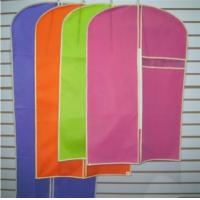 Buy cheap Nonwoven Lightweight Suit Cover Fabric Foldable Garment Bags Personalized from wholesalers