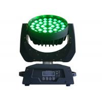 Buy cheap IP33 Moving Head Zoom Led Wash Light Dmx Colorful For Stage Lighting High Brightness from wholesalers