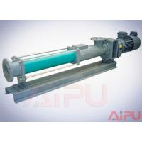 Buy cheap Aipu solids APG series S.S screw pump for centrifuge in drilling mud system from wholesalers