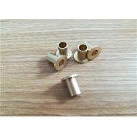 Buy cheap OEM Precision Stainless Metal Stamping Parts , Custom CNC Machinery Lathe Parts from wholesalers