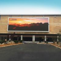 Buy cheap P4 Outdoor Advertising Video Wall LED Display Waterproof Fixed Electronic Message Centers product