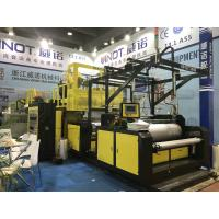Buy cheap lldpe ldpe hdpe Stretch Film Rewinding Machine / Stretch Film Wrap Machine from wholesalers
