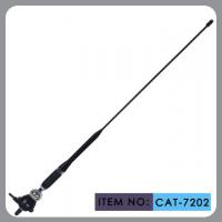 Buy cheap Truck Rubber Car Antenna With Black Glass Fibre Mast Chrome Zinc Alloy 75Ω product