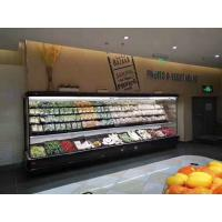 Buy cheap Fruits Display Commercial Open Display Fridge With Dual Air Curtain And Remote Compressor from wholesalers