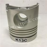 Buy cheap Excavator Heavy Engine Parts Piston Cast Iron Material With Pin / Clip 13216-2330 from wholesalers