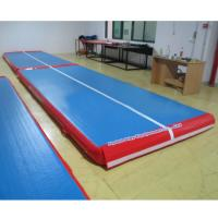 Buy cheap tumble track inflatable air mat for gymnastics from wholesalers
