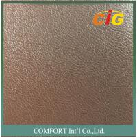 Buy cheap Strong Knitting Mesh Backing Artificial Car Seat Leather / PVC Vinyl Fabric product