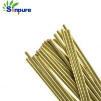 Buy cheap Customized small diameter  brass capillary tube for heat exchange from wholesalers