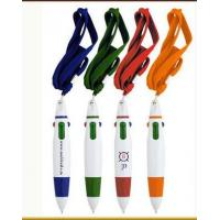Buy cheap Multi color promotional pen with string orange color pen mini pen from wholesalers
