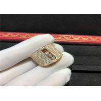 Buy cheap Custom Made 18K Gold Messika Move Ring With Three Delicate Flowing Diamonds product