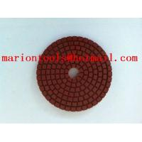 Buy cheap diamond flixiable polishing pads for polishing stone from wholesalers
