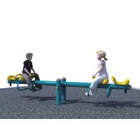 Buy cheap Plastic Outdoor Site Amenities Optional Color , Kids Plastic Playset With Galvanized Pipe from wholesalers
