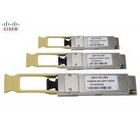 Buy cheap QSFP+ 40G 100G LC MPO Cisco Optical Transceiver Module Compatible With Fiber Patchcord from wholesalers