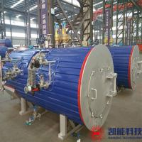 Buy cheap 600 - 700kw Threaded Tube Waste Heat Recovery Boiler 0.8MPa Working Pressure from wholesalers