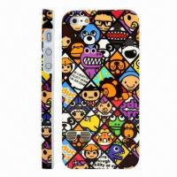 Buy cheap Cute Cartoon Pattern Ultra-thin Plastic Case for iPhone 5 from wholesalers