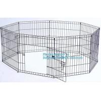 Buy cheap Manufacturer wholesale stainless steel metal large small foldable carriers cheap pet dog cage, Large Steel Dog Cage For from wholesalers