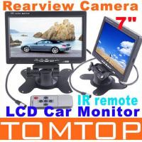 "Buy cheap 7"" TFT Color LCD 2 Video Input Car Monitor 7 RearView Headrest DVD VCR Monitor for Reverse Rearview Camera IR from wholesalers"