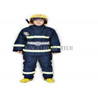 Buy cheap Wear Resistant Fire Safety Suit , Chemical Protective Fire Retardant Safety Clothing from wholesalers