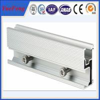 Buy cheap Aluminum extrusion for solar pannel mounting aluminium profile guide rail product