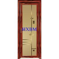 Buy cheap Single Glazed Frosted Glass Interior Door , Custom Color Modern Interior Doors from wholesalers