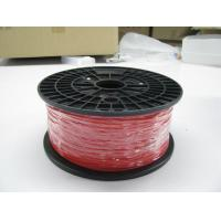 Buy cheap 3.0mm Red 3D Printer PLA Filament / Durable 1.75mm PLA Filament from wholesalers
