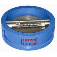 Buy cheap H76 Wafer Type Dual Disk Check Valve Swing Made By Ductile Iron , SS Plate from wholesalers