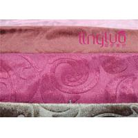 Buy cheap 100% Polyester Gold Velvet Upholstery Fabric Weaving On Warp Knitting Machines from wholesalers