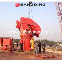 Buy cheap BANGDING 5t30m Folding Boom Crane Knuckle Boom Marine Deck Crane from wholesalers