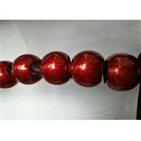 Buy cheap Red Candy Effect Epoxy Polyester Powder Coating Spray Paint Environmental product