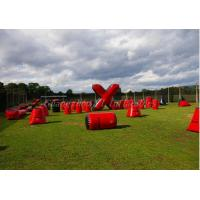 Buy cheap Wonderful Inflatable Paintball Bunkers Field , Paintball Blow Up Bunkers from wholesalers