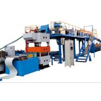 Buy cheap Automatic Stacker Double Belt Speed Polyurethane Sandwich Panel Manufacturing Line from wholesalers
