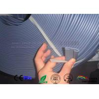 Buy cheap Lip seal of solid grey silicone rubber  strip from wholesalers