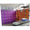 Buy cheap Plastic Gym Lockers Wtih Master Combination Padlock , 4 Tier Employee Storage Lockers from wholesalers