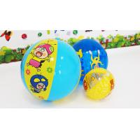 Buy cheap Blue 24Inch Huge Outdoor inflatable play ball for Beach with Cartoon pringting from wholesalers