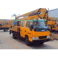 Buy cheap XCMG 14/17/20m Elevating Platform Truck / Man Lift Boom Truck 3 People Seating : from wholesalers