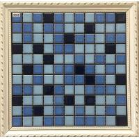 Buy cheap Classic Design Ceramic Mosaic Tile 25 X 25 Mm For Swimming Mosaic Pool from wholesalers