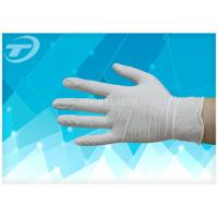 Buy cheap Medical Disposable Gloves Latex Examination Glove , Powder And Powder Free from wholesalers