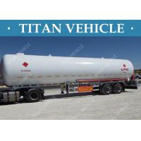 Buy cheap Truck LPG Tanker Trailer , Liquefied Natural Gas Methanol LPG Propane Tanker from wholesalers