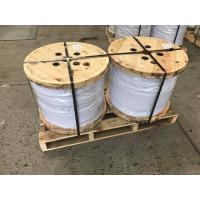 Buy cheap Galvanized Steel Wire Strand For Stay Wire As Per BS 183 , EN10244-2 Main Size 7x3.25mm , 7x4.0mm from wholesalers
