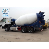 Buy cheap HOWO A7 Concrete Mixer Trucks Diesel 8cbm 6x4 EuroII With Italy Motor from wholesalers