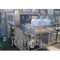 Buy cheap Compact Structure Barrel Filling Machine / High Efficiency Water Filling Line from wholesalers