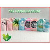 Buy cheap Liquid Packaging Spout Pouch Bags Eco - Friendly For Hair Mask from wholesalers