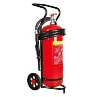 Buy cheap 50 kg Trolley Wheeled Dry Powder Fire Extinguisher Test Pressure 25 Bar For Subway product