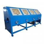 Buy cheap Safe Operating Automatic Buffing Machine , Sheet Polishing Machine PLC Control from wholesalers